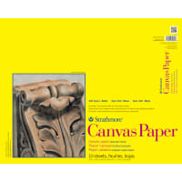 "Strathmore Canvas Paper Pad 16""X20""-10 Sheets"