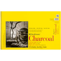 "Strathmore Charcoal Spiral Paper Pad 11""X17""-32 Sheets"
