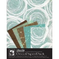 Deco Paper Pack By Black Ink Papers-Whimzy