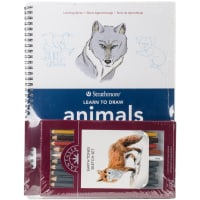 Learn To Draw Animals In Color Set