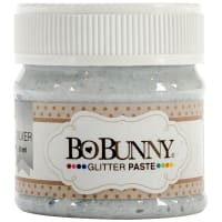 BoBunny Double Dot Glitter Paste 50ml-Silver