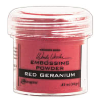 Wendy Vecchi Embossing Powder -Red Geranium