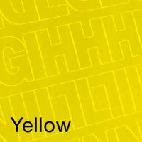"""Permanent Adhesive Vinyl Letters & Numbers 3"""" 160/Pkg-Yellow"""