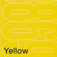 "Permanent Adhesive Vinyl Numbers 4"" 49/Pkg-Yellow"