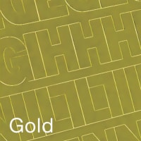 """Permanent Adhesive Vinyl Letters & Numbers 3"""" 160/Pkg-Gold"""