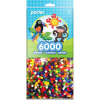 Perler Beads 6,000/Pkg-Bright Mix
