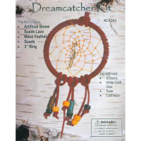 Leathercraft Kit-Mini Dreamcatcher 3""