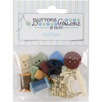 Buttons Galore Button Theme Pack-Sewing