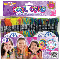 Janlynn Cool Cord Friendship Bracelet Pack-Assorted Colors
