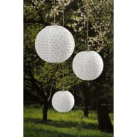 "David Tutera Paper Lanterns 6"", 8"" & 10"" 3/Pkg-Lace Look"