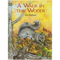Dover Publications-A Walk In The Woods Coloring Book