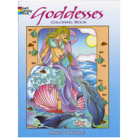 Dover Publications-Goddesses Coloring Book