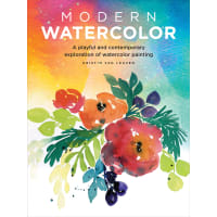 Walter Foster Creative Books-Modern Watercolor