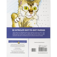Dover Publications-Cats Dot-To-Dot