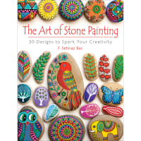 Dover Publications-The Art Of Stone Painting