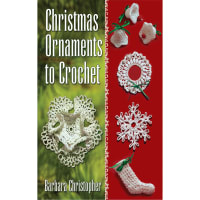 Dover Publications-Christmas Ornaments To Crochet