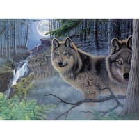 """Paint By Number Kit 15.375""""X11.25""""-Mystical Moonlight"""