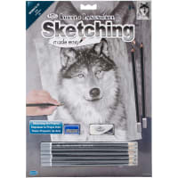 """Sketching Made Easy Kit 9""""X12""""-Alpha"""