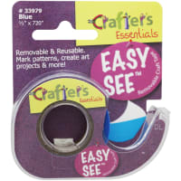 """Lee Products Removeable Highlighter Tape .5""""X720""""-Blue"""