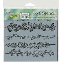 """Crafter's Workshop Template 6""""X6""""-Fanciful Borders"""