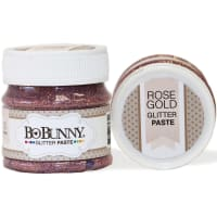 BoBunny Double Dot Glitter Paste 50ml-Rose Gold