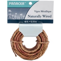 Coiled Wrapped Wire 40'-Natural