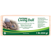 Super Sculpey Living Doll Clay 1lb-Baby