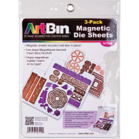 "ArtBin Magnetic Sheets 3/Pkg-7.325""X9.125"""