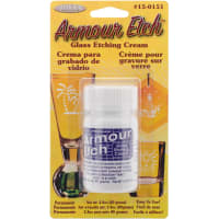Glass Etching Cream Carded-3oz