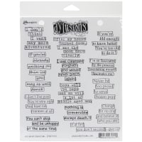 """Dyan Reaveley's Dylusions Cling Stamp Collections 8.5""""X7""""-Say What You Mean"""