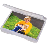 "ArtBin Photo & Supply Box-6.625""X4.75""X1.25"" Translucent"