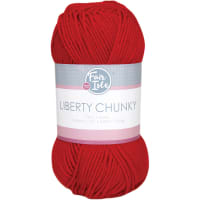 Fair Isle Liberty Chunky Yarn-Red