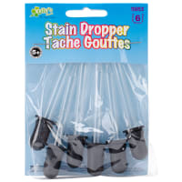 Stain Droppers 6/Pkg-