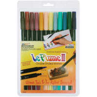 Le Plume II Double-Ended Markers 12/Pkg-Victorian