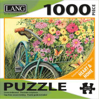 """Jigsaw Puzzle 1000 Pieces 29""""X20""""-Bicycle Bouquet"""