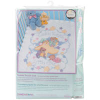 "Dimensions Baby Hugs Quilt Stamped Cross Stitch Kit 34""X43""-Twinkle Twinkle"