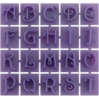 Stone Stamps-Victorian Style Letters & Numbers