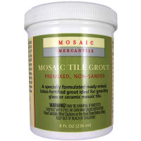 Mosaic Tile Grout 8oz-White
