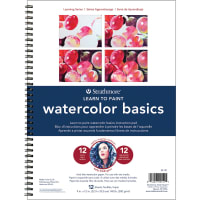 "Strathmore Learn To Paint Wire Pad 9""X12""-Watercolor Basics"