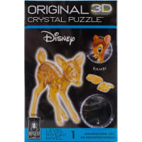 3-D Licensed Crystal Puzzle-Bambi