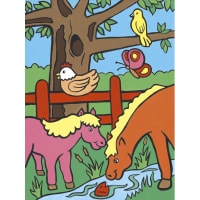 """My First Paint By Number Kit 8.75""""X11.375""""-Farm Animals"""