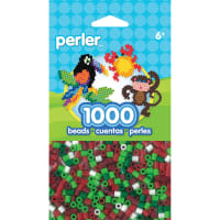 Perler Beads 1,000/Pkg-Holiday Mix