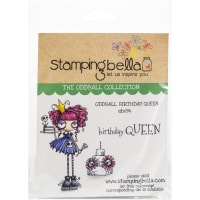 Stamping Bella Cling Stamps-Oddball Queen