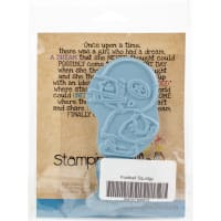 Stamping Bella Cling Stamps-Football Squidgy