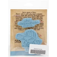 Stamping Bella Cling Stamps-Baseball Squidgy