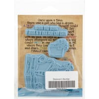 Stamping Bella Cling Stamps-Bookworm Squidgy