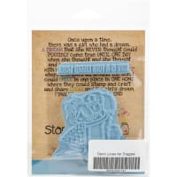 Stamping Bella Cling Stamps-Tiny Townie Dawn Loves Her Doggie