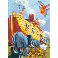 """Junior Small Paint By Number Kit 8.75""""X11.75""""-Noah's Ark"""
