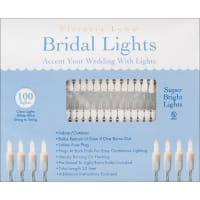 Victoria Lynn Bridal Lights 100 Count 32'-Clear Bulbs W/White Wire