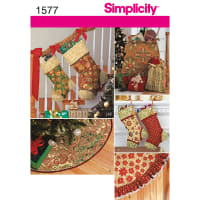 Simplicity Crafts Holiday-One Size